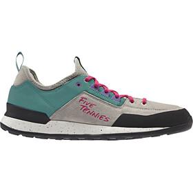 adidas TERREX Five Tennie Shoes Men lbrown/trugrn/real magenta
